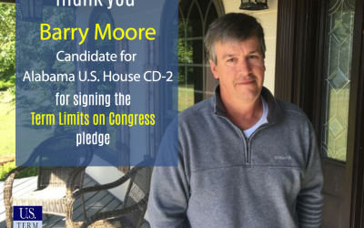State Rep. Barry Moore Signs Term Limits on Congress Pledge