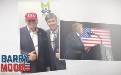 Barry Moore – Veteran, Husband, Father, Proud Trump Supporter